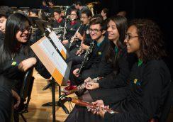 Banda Sinfônica Juvenil no Masp Auditório