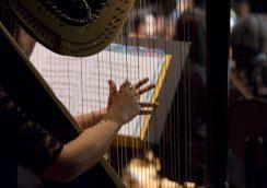 Orquestra Sinfônica Infanto-Juvenil do Guri, no Masp Auditório, em junho de 2017.