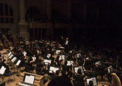 Orquestra Jovem do Estado com Cláudio Cruz, na Sala São Paulo.