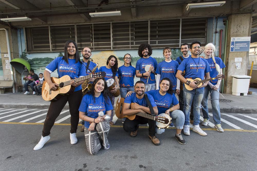 Turma de veteranos do Música nos Hospitais 2017 (fotos: Helô Bortz/Santa Marcelina Cultura)